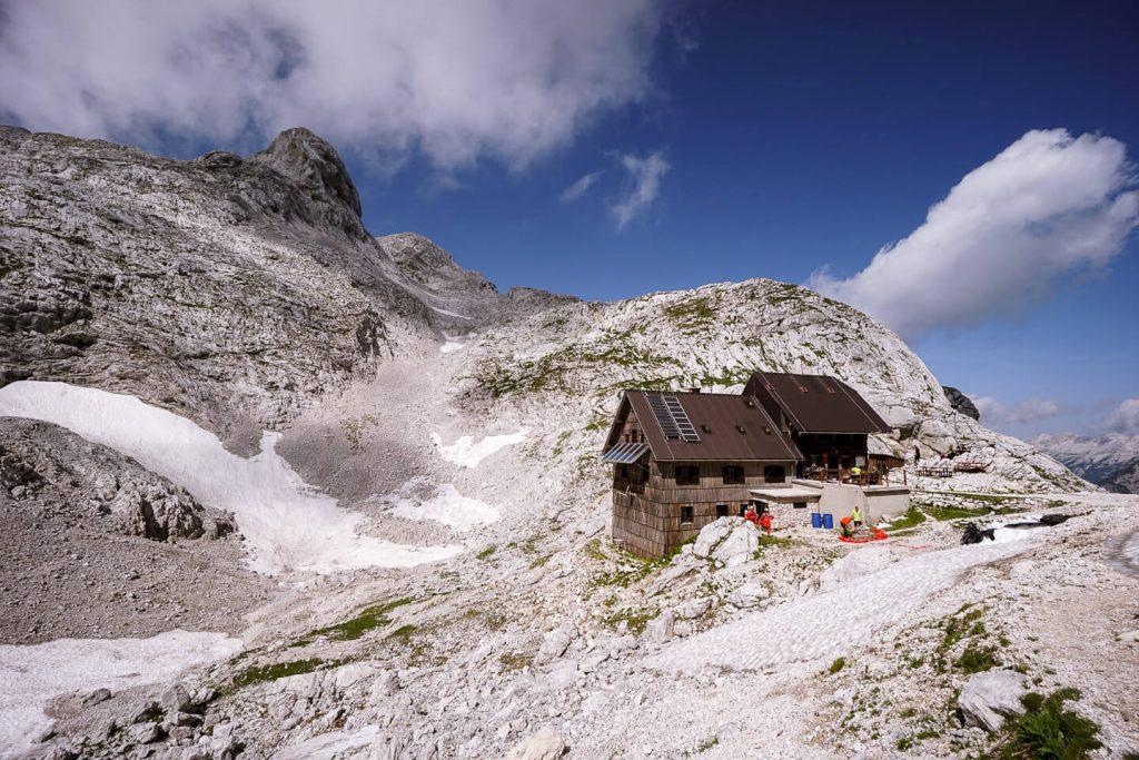 Koča na Doliču, Julian Alps, Slovenia