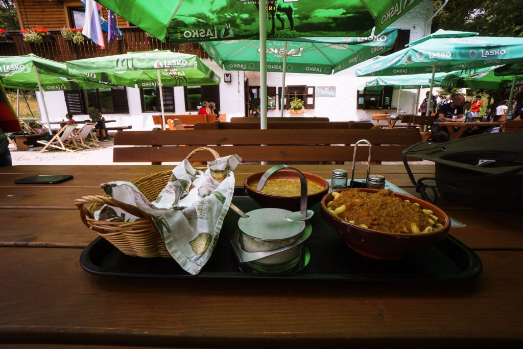 Hut food, Slovenia