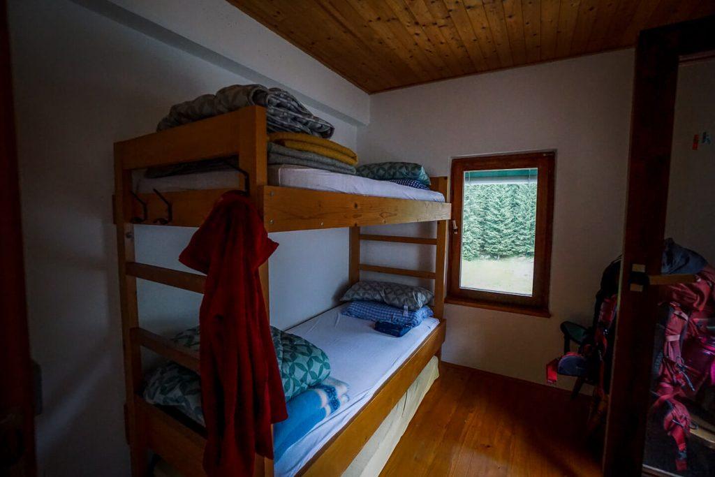 Planinski dom pri Krnskih jezerih Double Room, Julian Alps, Slovenia
