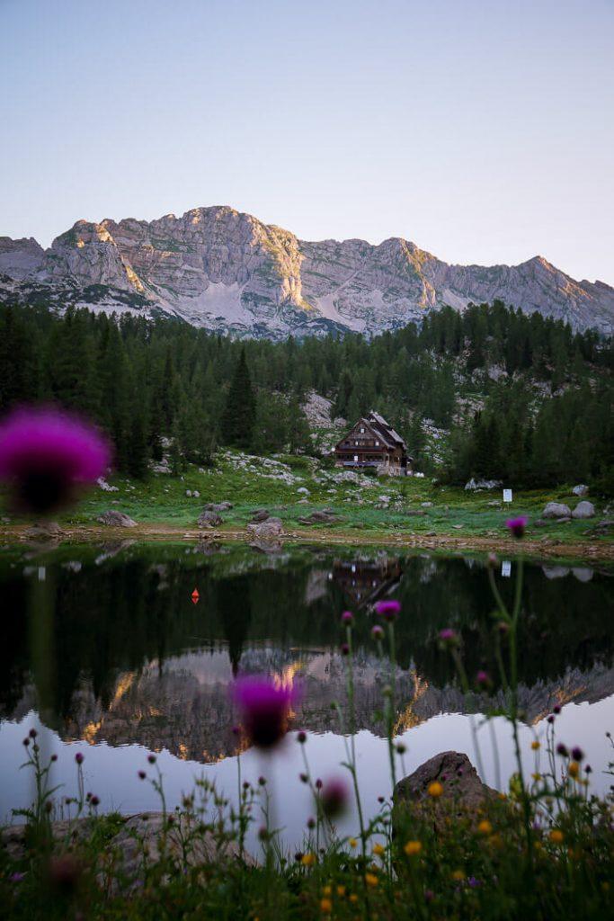 Triglav Lakes Hut, Seven lakes Valley, Julian Alps