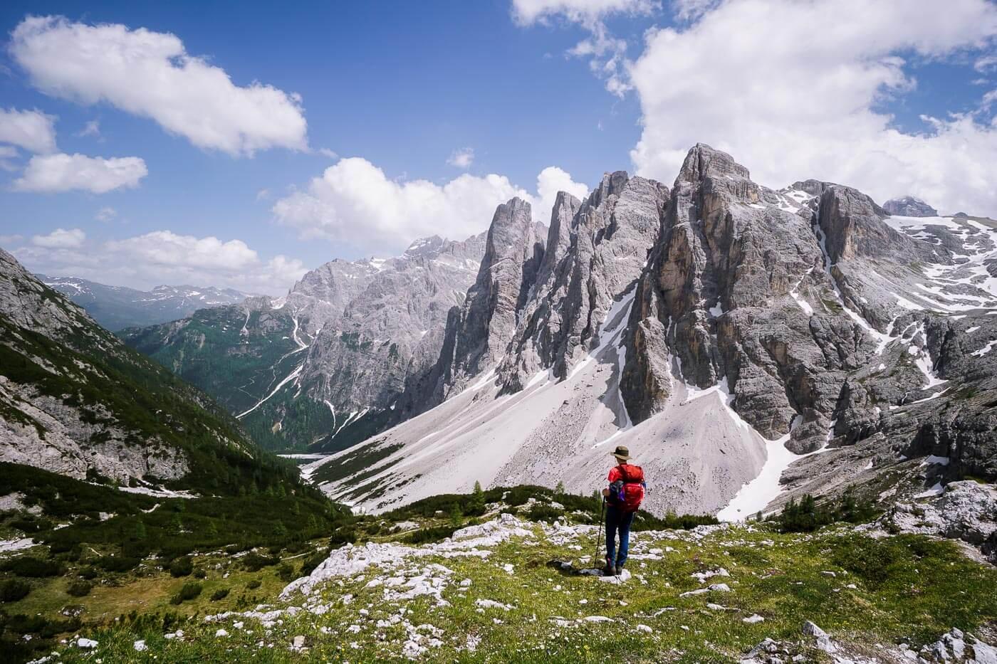 Altensteintal, Crode Fiscaline/Oberbachernspitzen, Sexten Dolomites
