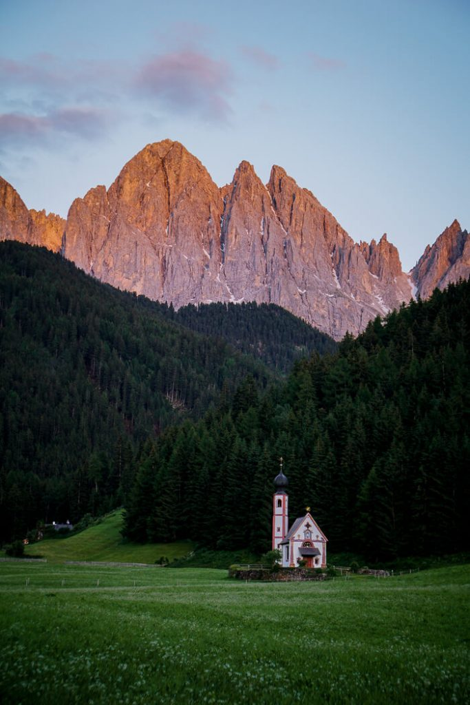 Church of San Giovanni in Ranui, Val di Funes