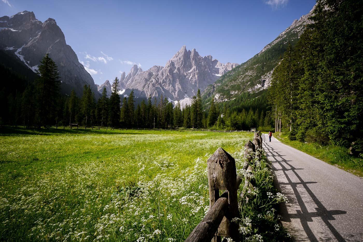Val Fiscalina / Fischleintal, Sesto/Sexten Sundial, Dolomites