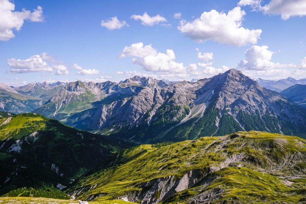 Theodor_Prassler-Weg, Lechquellen Mountains, Austria