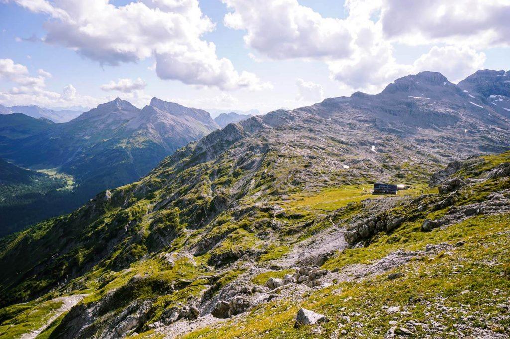 Göppinger Hut Hike, Lechquellen, Austria