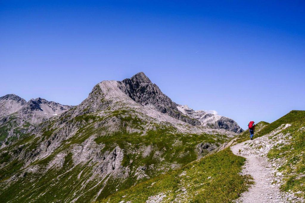 Oberlech to Butzensattel, Lechquellen, Vorarlberg, Austria
