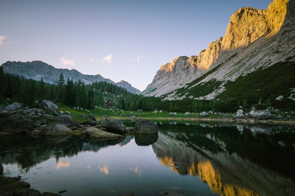 Dvojno jezero (Double Lake), Julian Alps, Slovenia