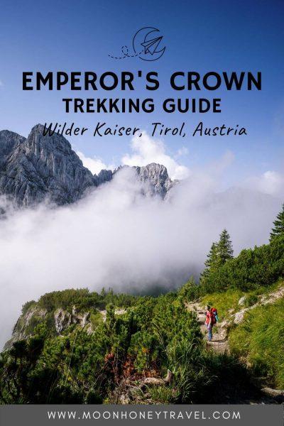 Emperor's Crown Trekking Guide, Wilder Kaiser, Austria