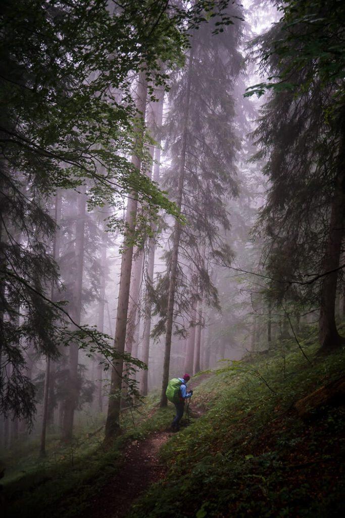 Bettlersteig Trail, Wilder Kaiser, Austria
