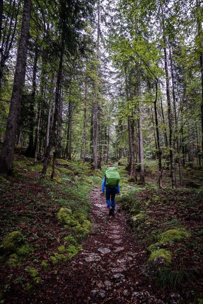 Trail 801, Hans Berger Haus to Stripsenjochhaus, Wilder Kaiser, Austria