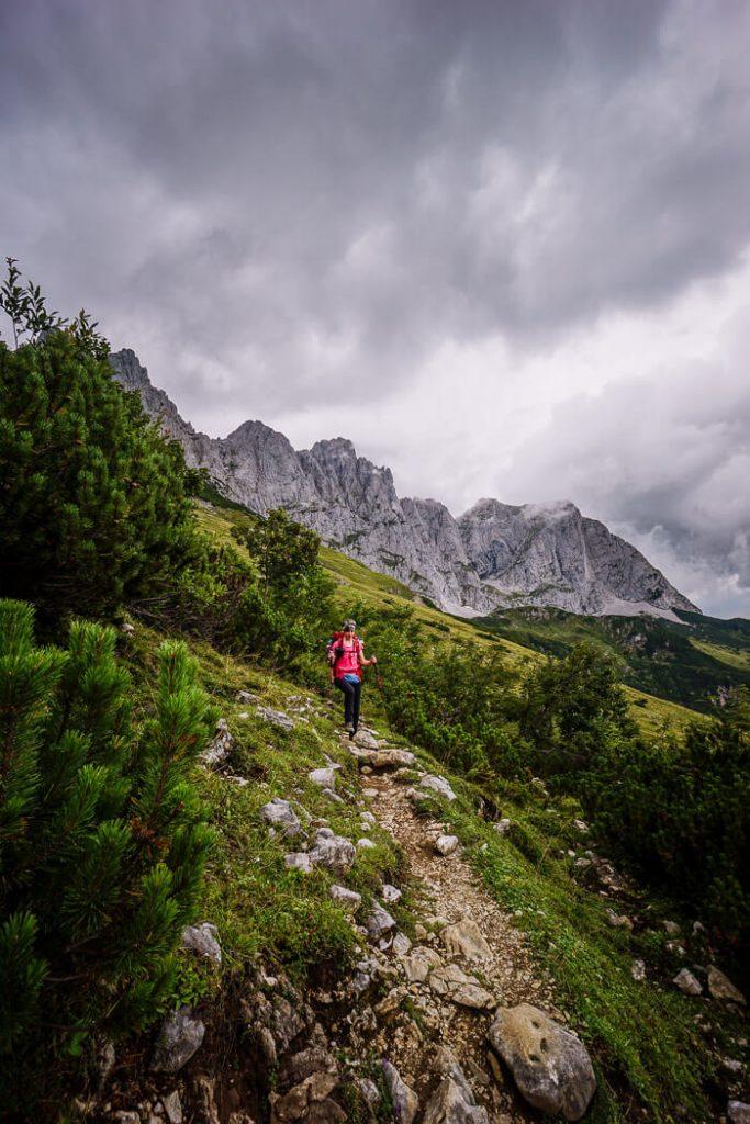Emperor's Crown Trail, Wilder Kaiser, Austria