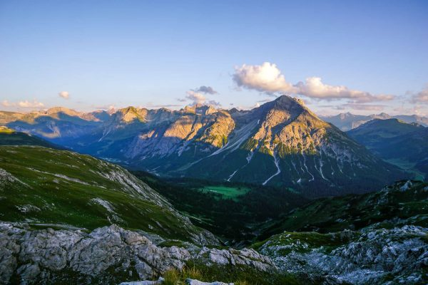 Gamsboden Plateau, Lechquellen, Vorarlberg, Austria