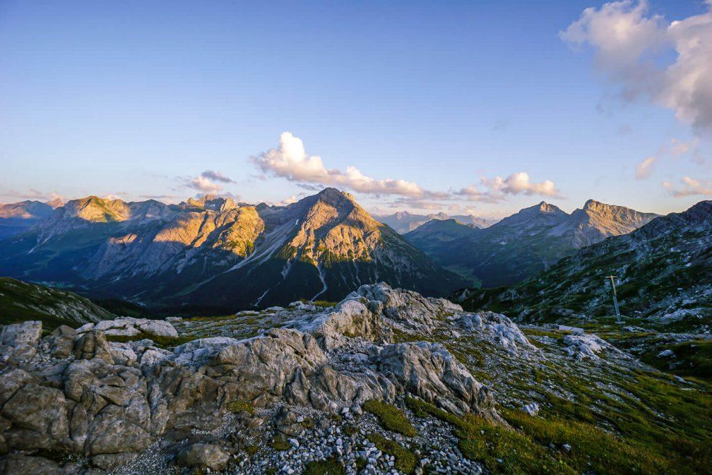 Gamsboden, Göppinger Hut, Lechquellen Mountains, Austria
