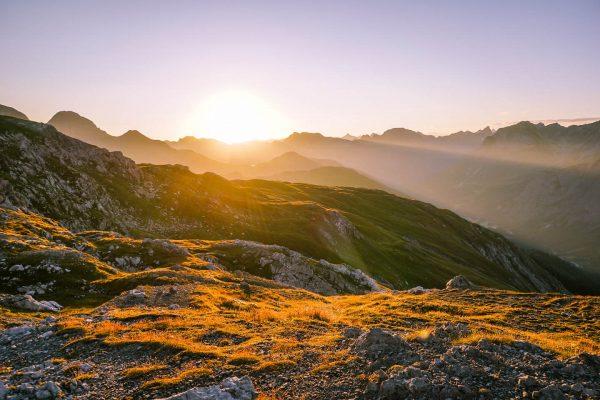 Lechquellen Mountains, Lech am Arlberg, Austria