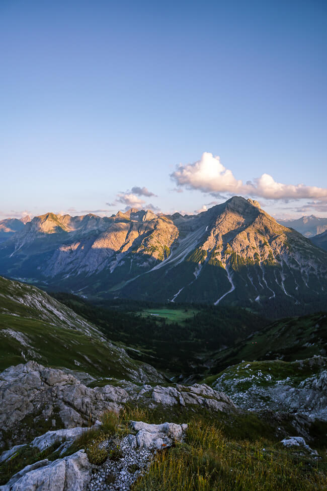 Gamsboden Plateau, Lechquellen Mountains, Austria