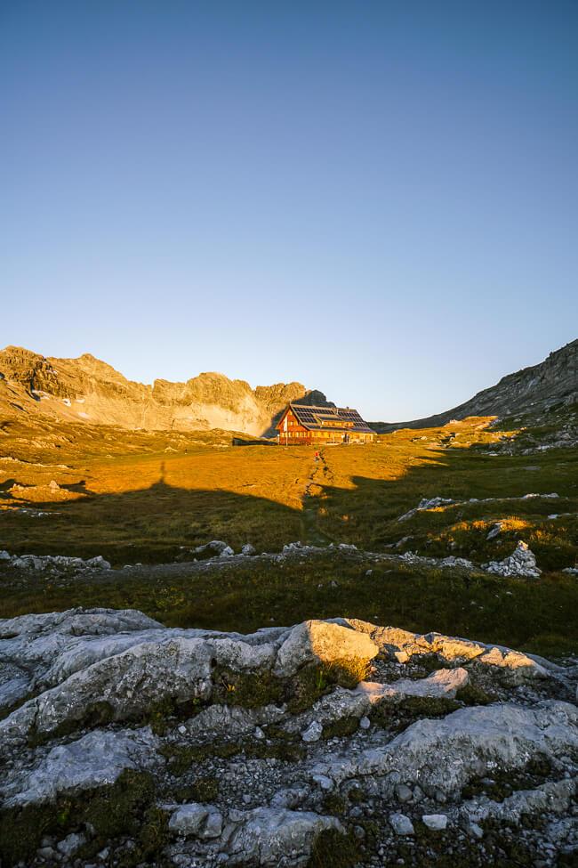 Göppinger Hut, Lechquellen Mountains, Austria