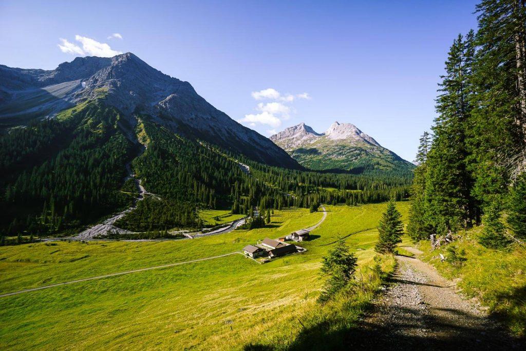 Unteren Älpele, Zugertal, Austria