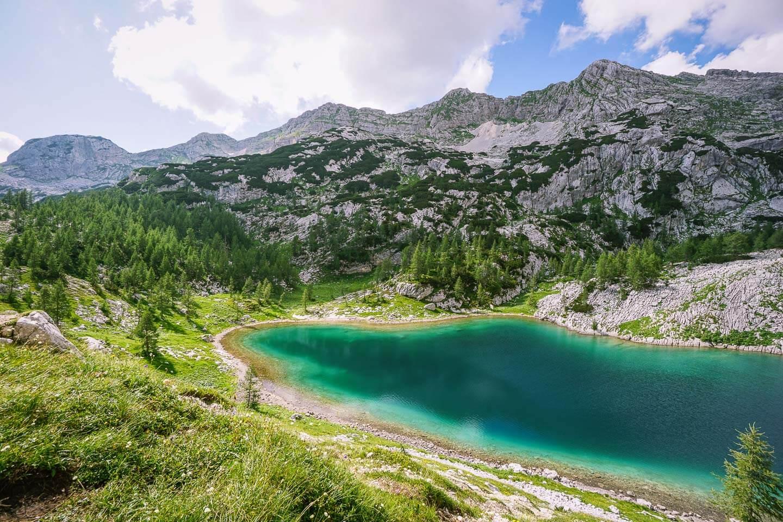 Veliko jezero, Seven Lakes Valley, Julian Alps, Slovenia
