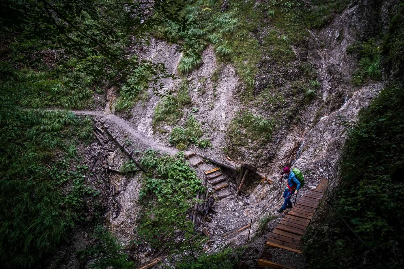 Bettlersteig Trail, Emperor's Crown, Kaiserkrone Trail, Wilder Kaiser, Austria