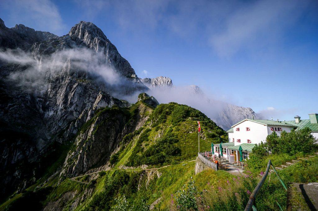 Stripsenjochhaus, Wilder Kaiser, Tirol, Austria