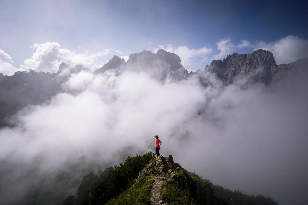 Stripsenkopf, Kaiser Mountains, Austria