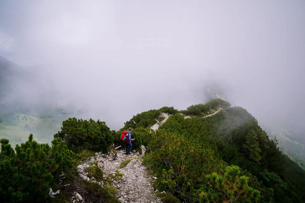 Feldberg Ridge Descent, Kaiser Mountains, Austria