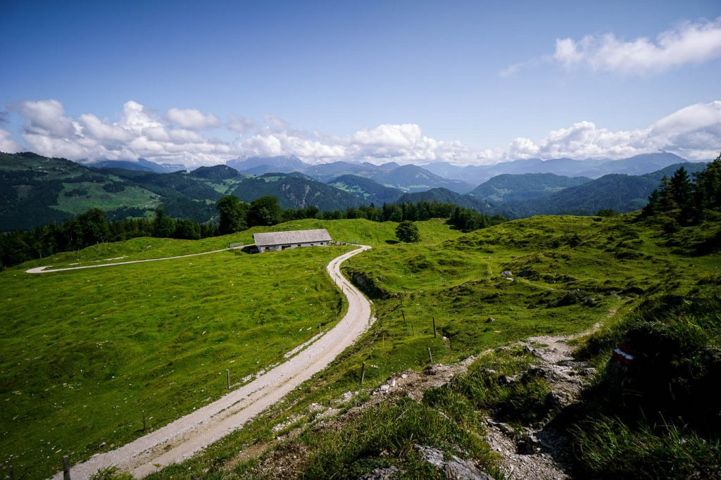 Untere Scheibenbichalm, Kaiser Mountains, Austria