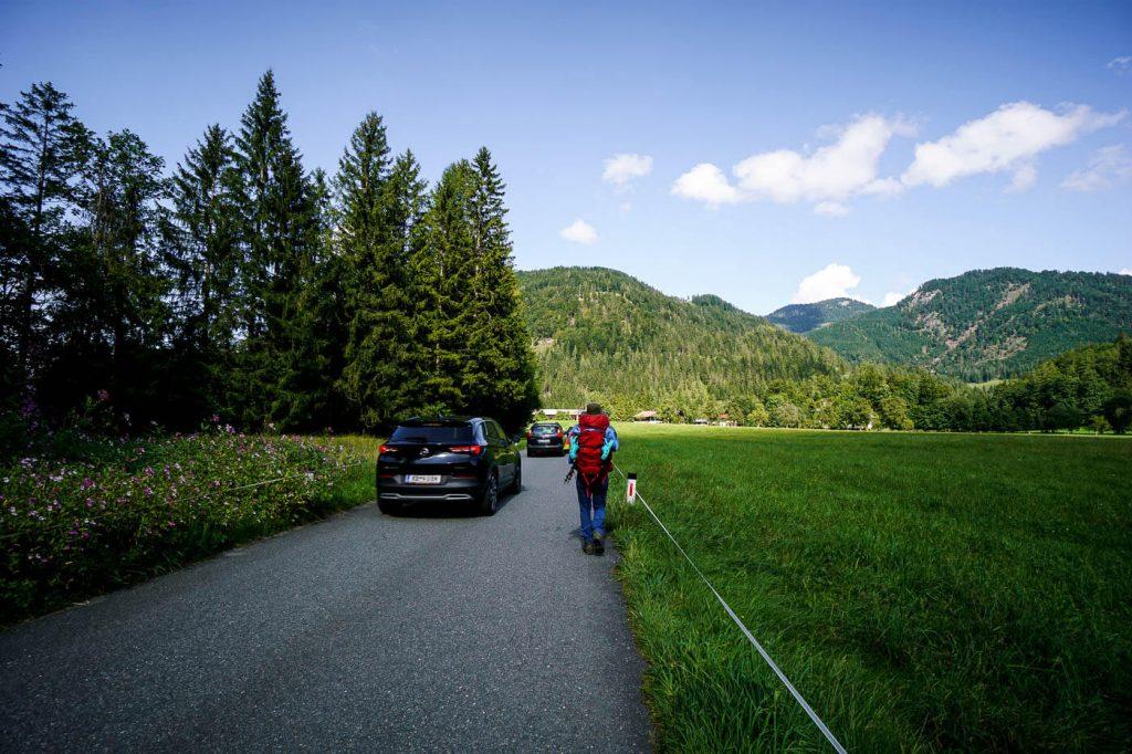 Kaiserbachtal to Griesenau, Kaiser Mountains, Austria