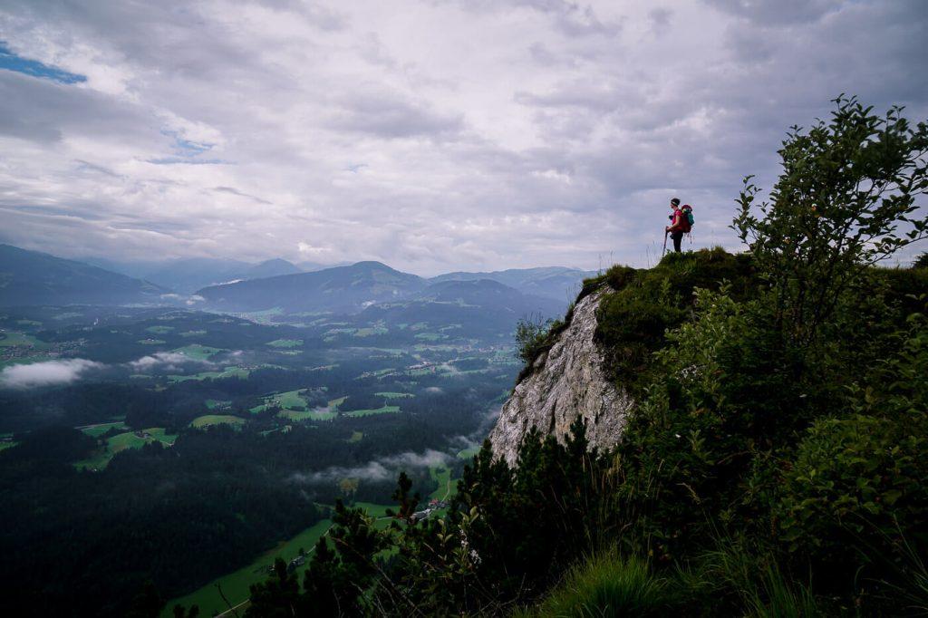Ursulablick, Niederkaiser Ridge, Kaiser Mountains, Austria