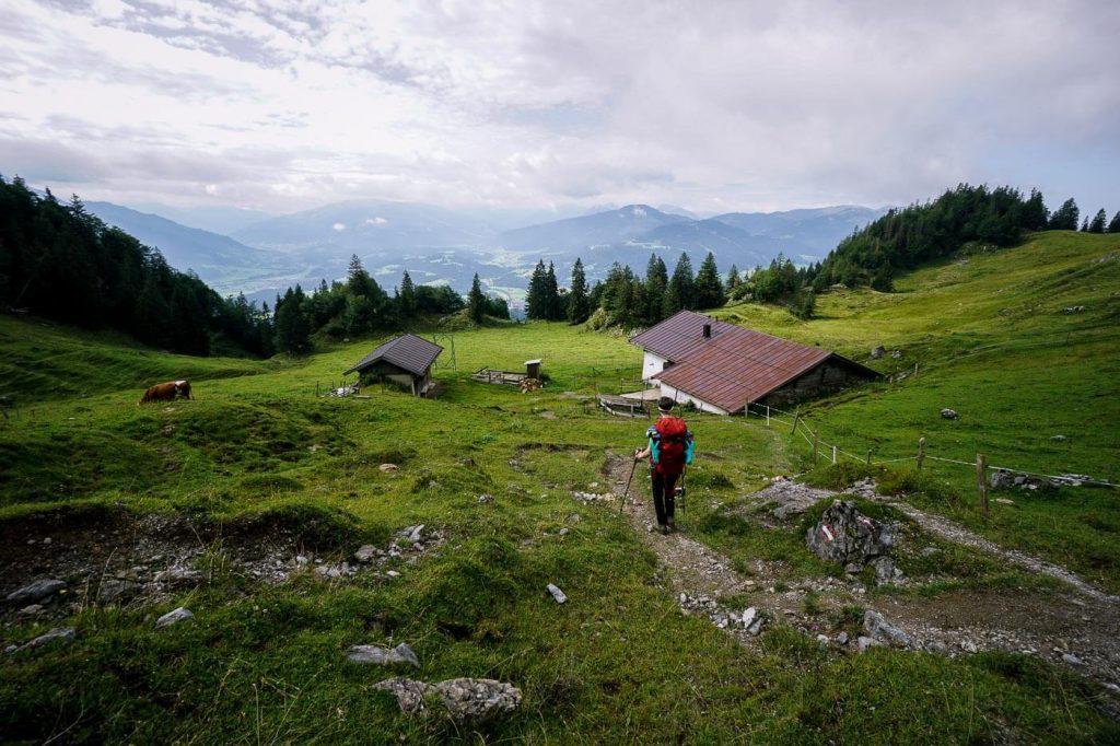 Granderalm, Kaiser Mountains, Austria