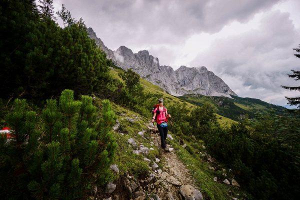 Gasteig to Gruttenhütte, Emperor's Crown (Kaiserkrone) Trail, Wilder Kaiser, Austria