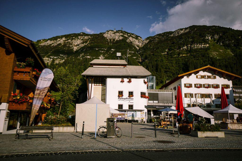 Rüfikopfbahn, Lech am Arlberg, Austria