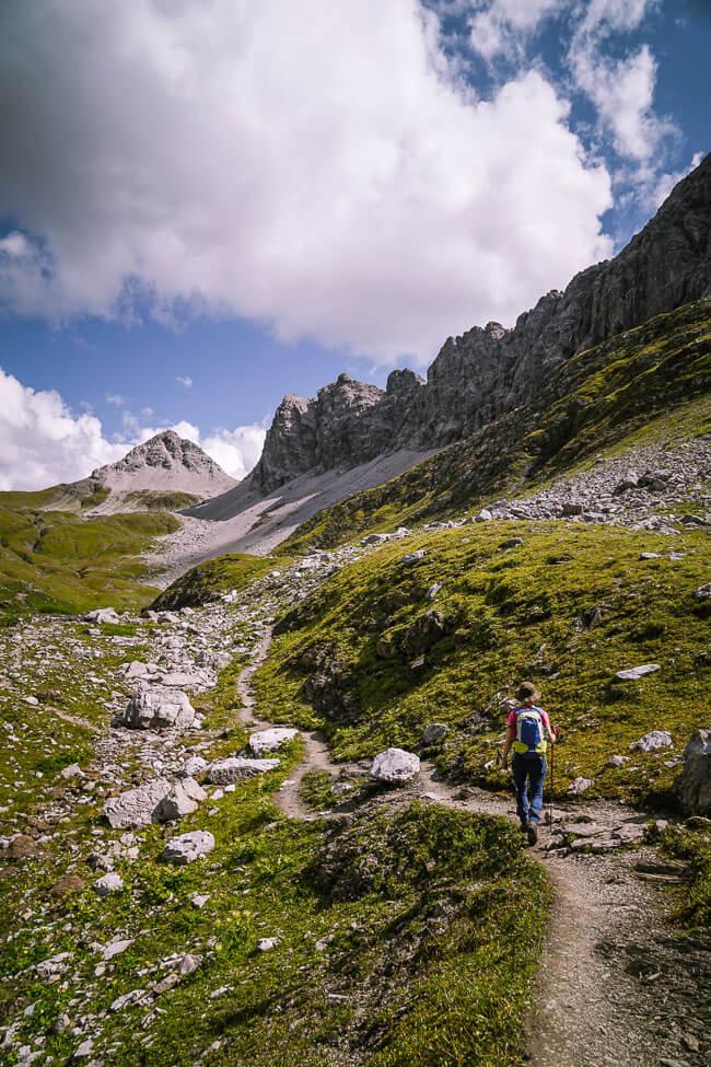 Stuttgarter Hütte Day Hike, Lechtal Alps, Austria