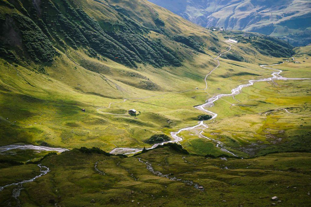 Pazielbach Stream, Pazieltal, Lechtal Alps, Austria