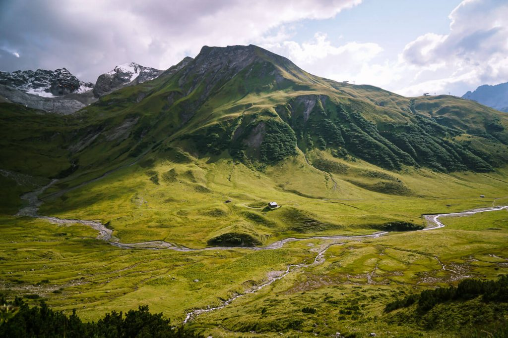Pazielbach Stream, Lechtal Alps, Austria