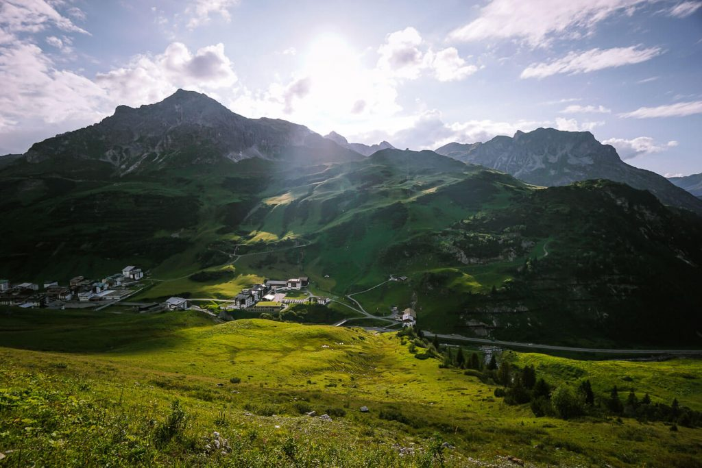 Zürs, Lechquellen Mountains, Austria