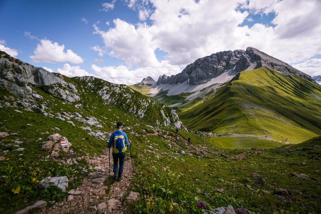 Rüfispitze, Lechtal Alps, Austria
