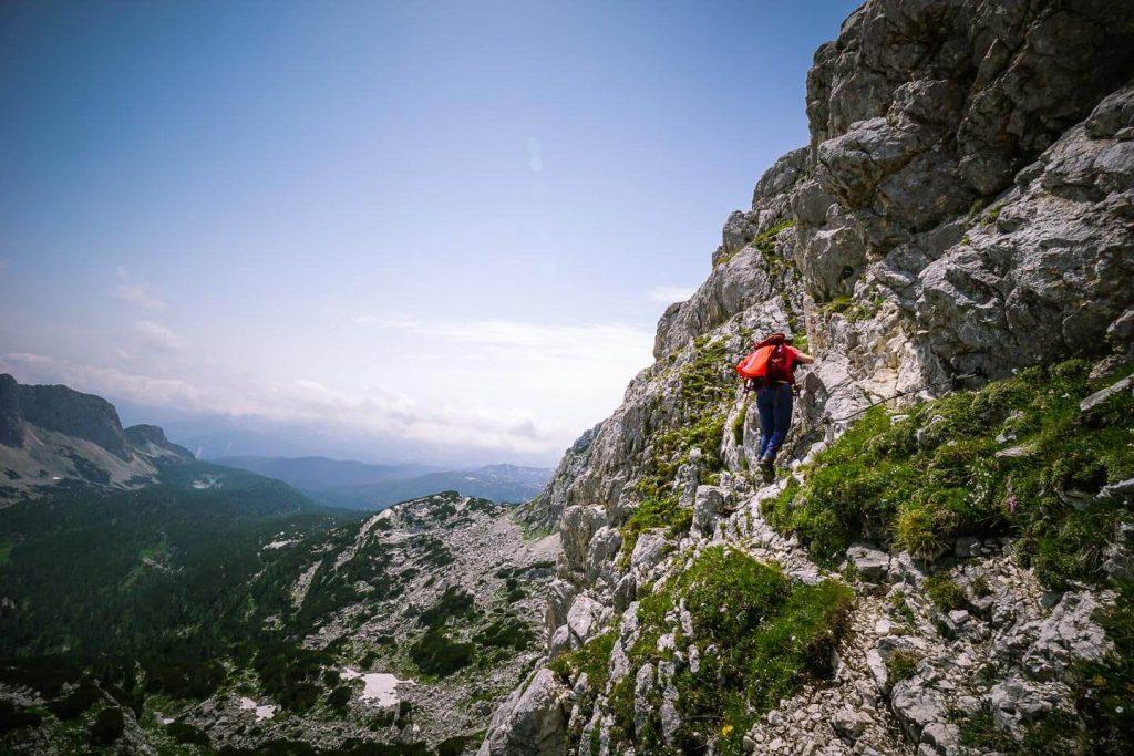 Veliko Špičje Protected Route, Julian Alps, Slovenia