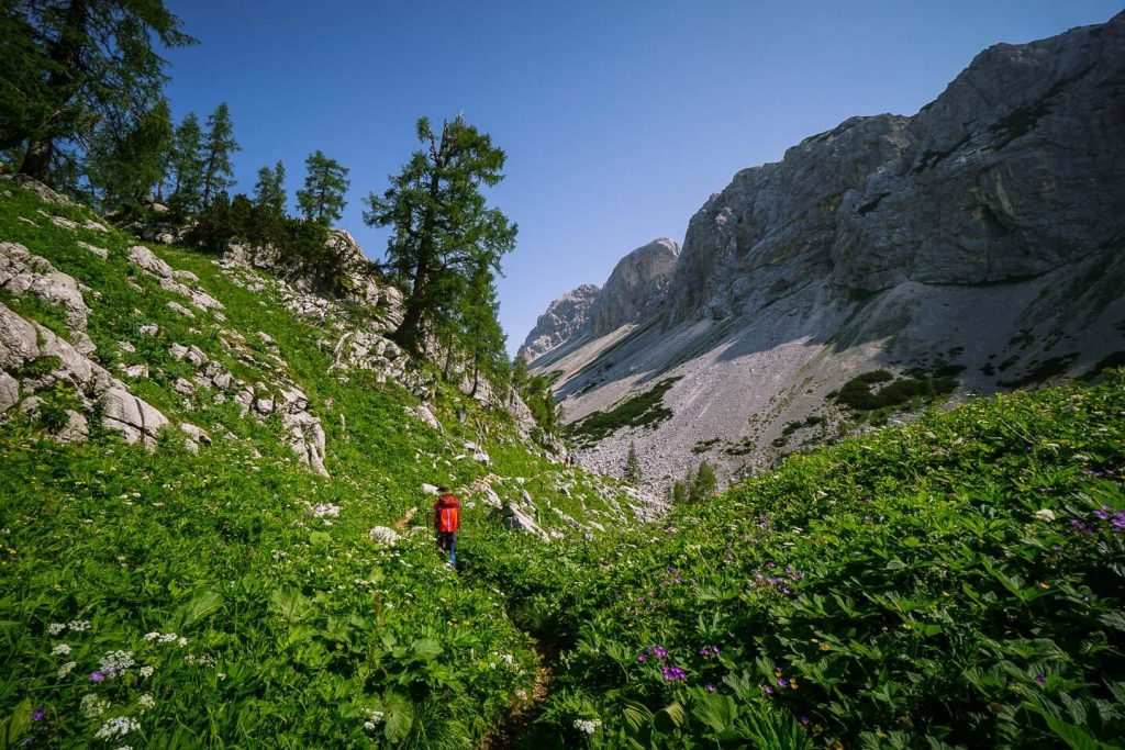 Seven Lakes Valley Trail, Slovenia