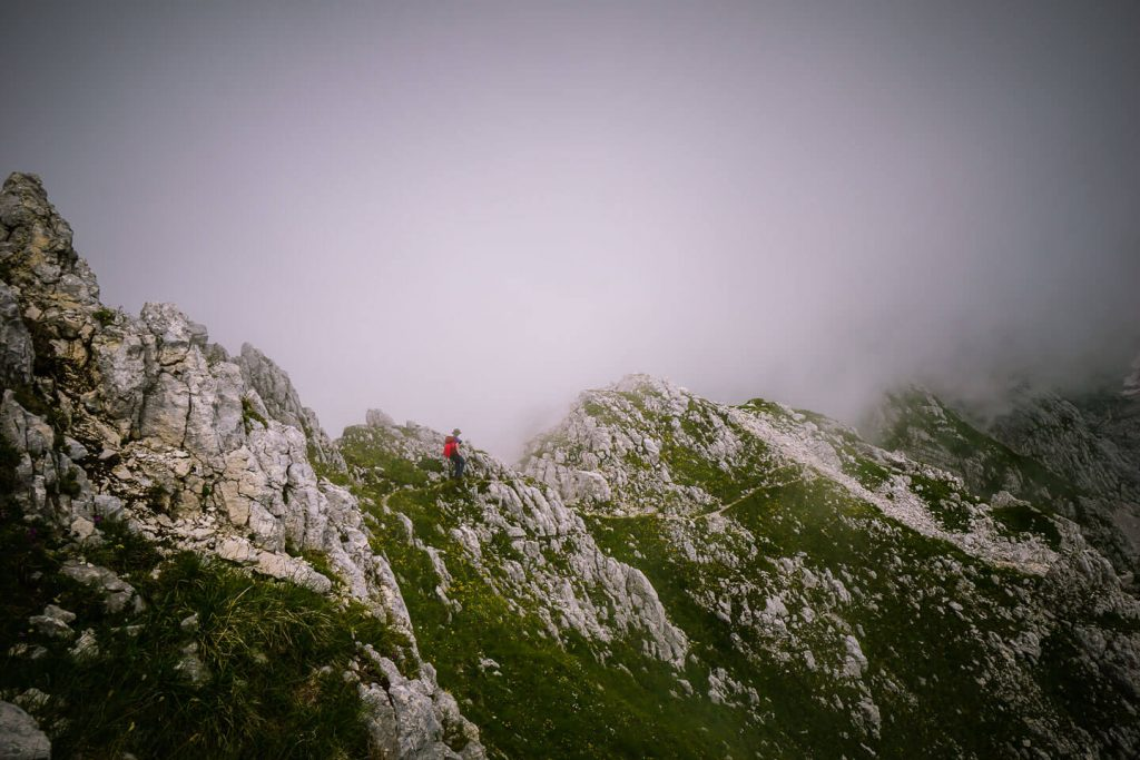 Špičje Ridge, Julian Alps, Slovenia