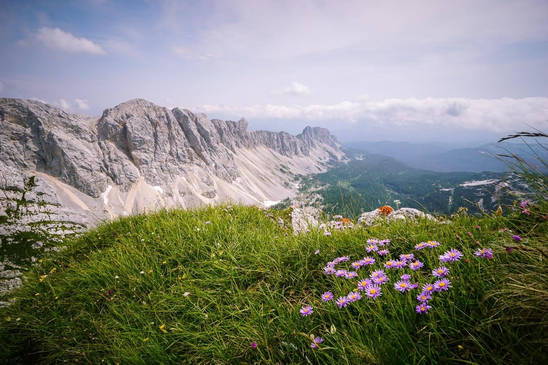 Veliko Špičje Ridge, Julian Alps, Slovenia