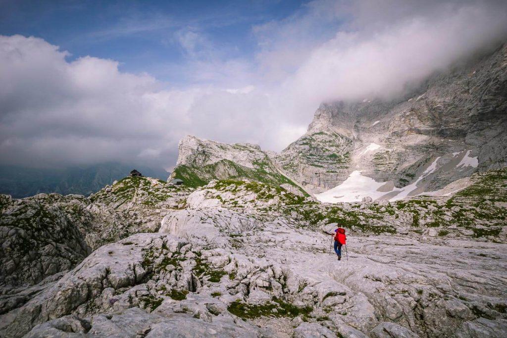 Karst Pavement, Julian Alps, Slovenia