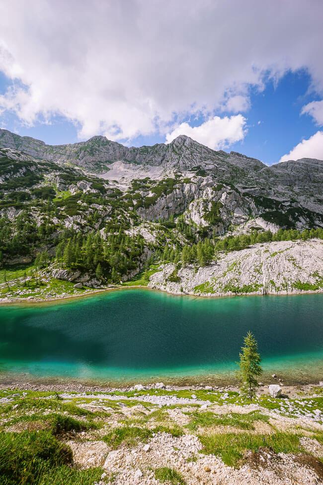 Veliko jezero (The Great Lake), Seven Lakes Valley, Slovenia