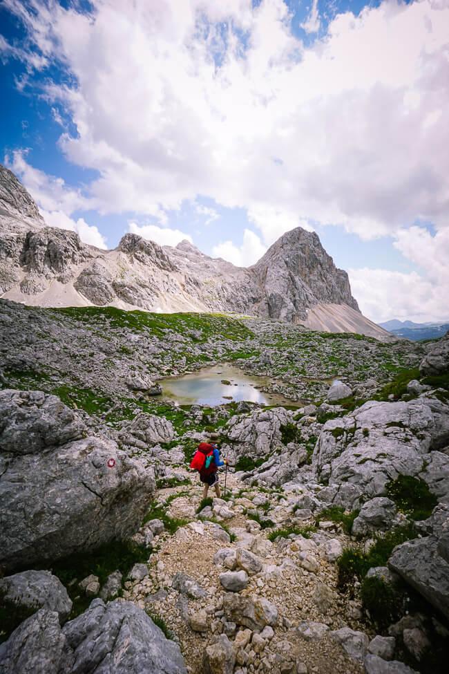 Zeleno Jezero, Seven Lakes Valley, Slovenia